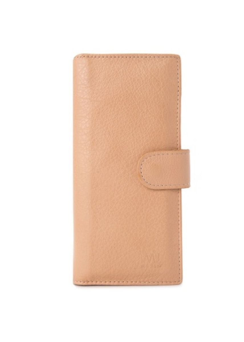 Beige color Wallets and Clutches . McJim Leather Long Wallet With Detachable Cardholder -