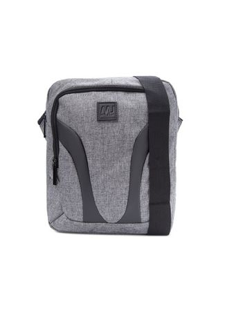 Grey color Messenger Bags . McJim Frosted Fabric Bag -