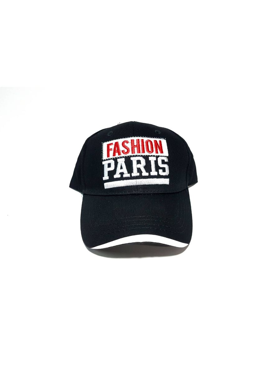 ดำ color หมวก . Paris Fashion Cap -
