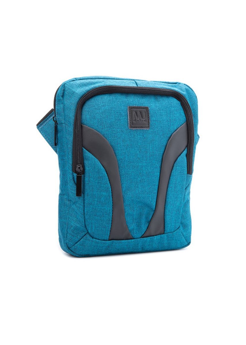 Blue color Messenger Bags . McJim Frosted Fabric Bag -