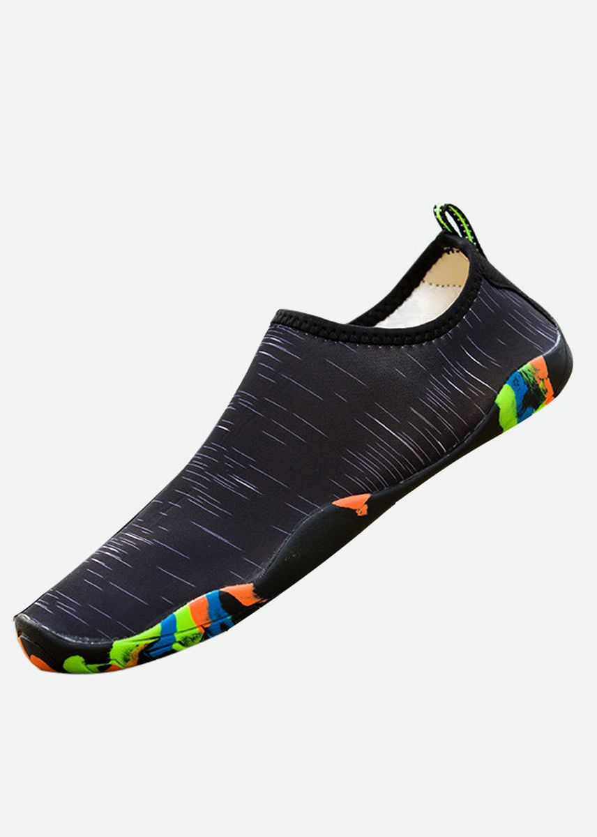 Black color Sandals and Slippers . Mens Water Shoes Aqua Socks -