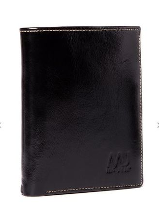 Black color Wallets and Clutches . Mc Jim Solid Bill Fold Wallet (Black) -