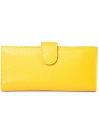 Yellow color Wallets and Clutches . McJim Long Wallet With Detachable Cardholder -