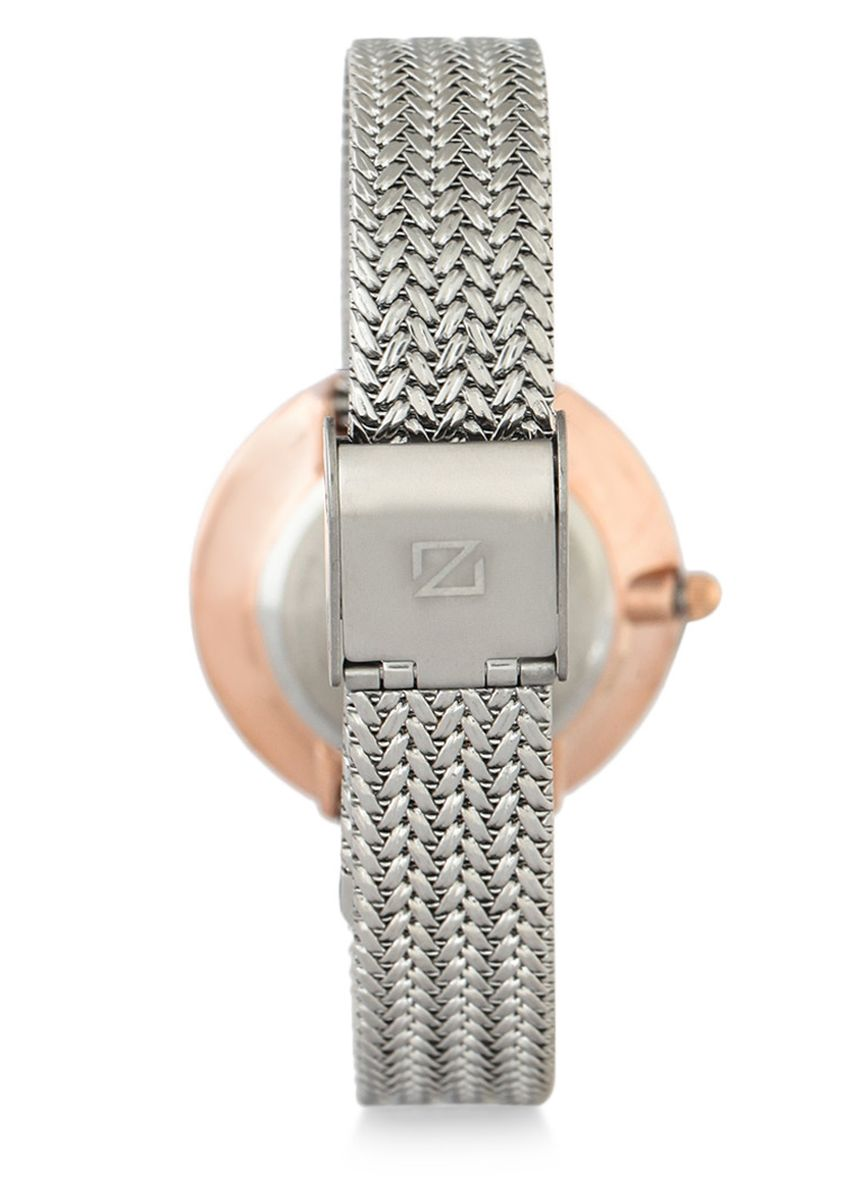 Silver color Analog . Zeca Watches - Ladies - 1001LP(2).M.P1.RG4 -