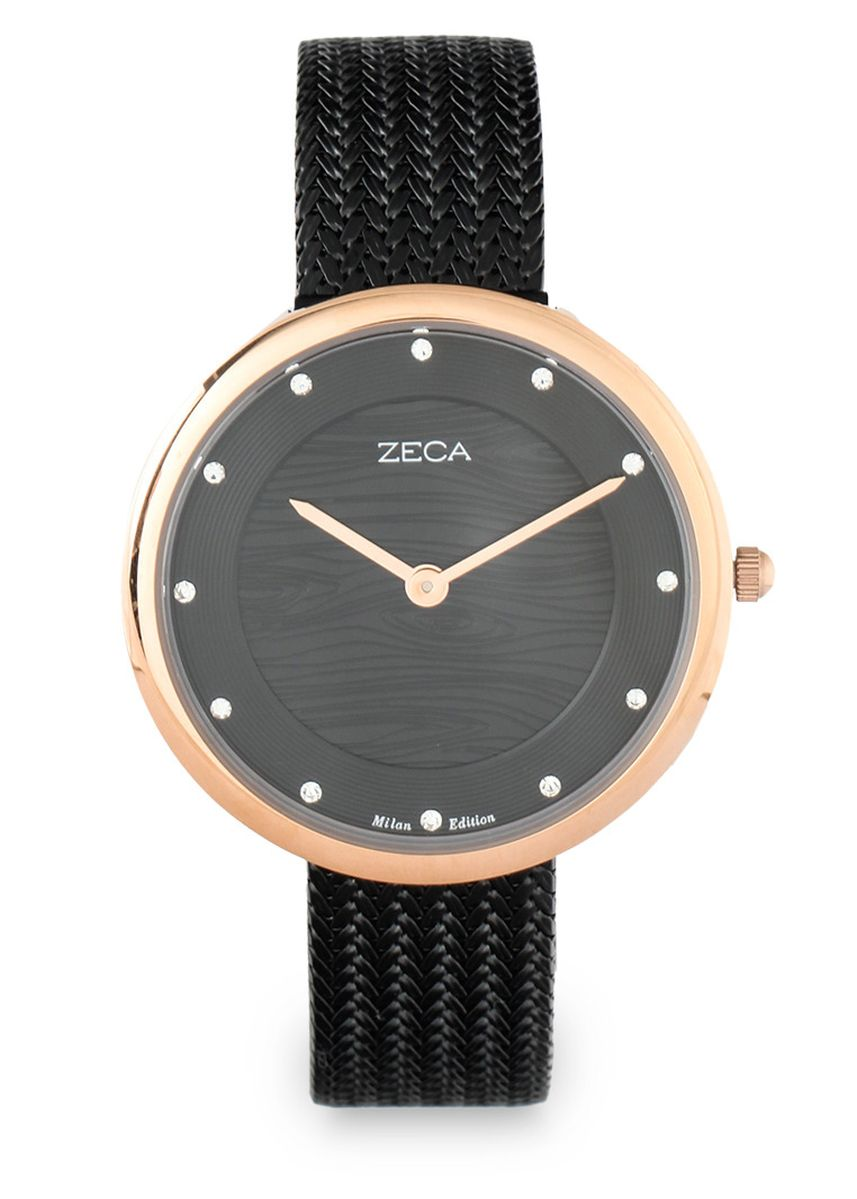 Black color Analog . Zeca Watches - Ladies - 1001LP(2).M.P1.RG4 -