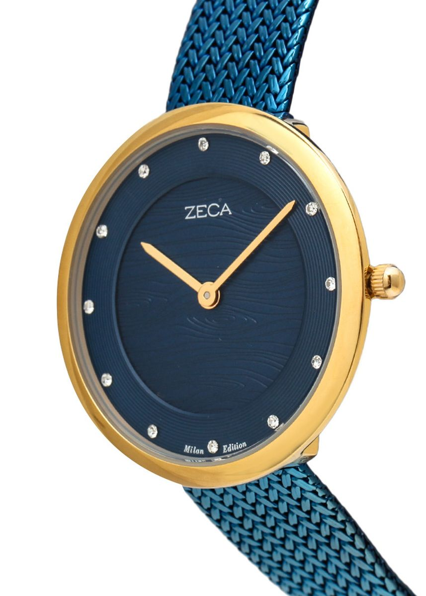 Blue color Analog . Zeca Watches - Ladies - 1001LP(2).M.P3.G5 -