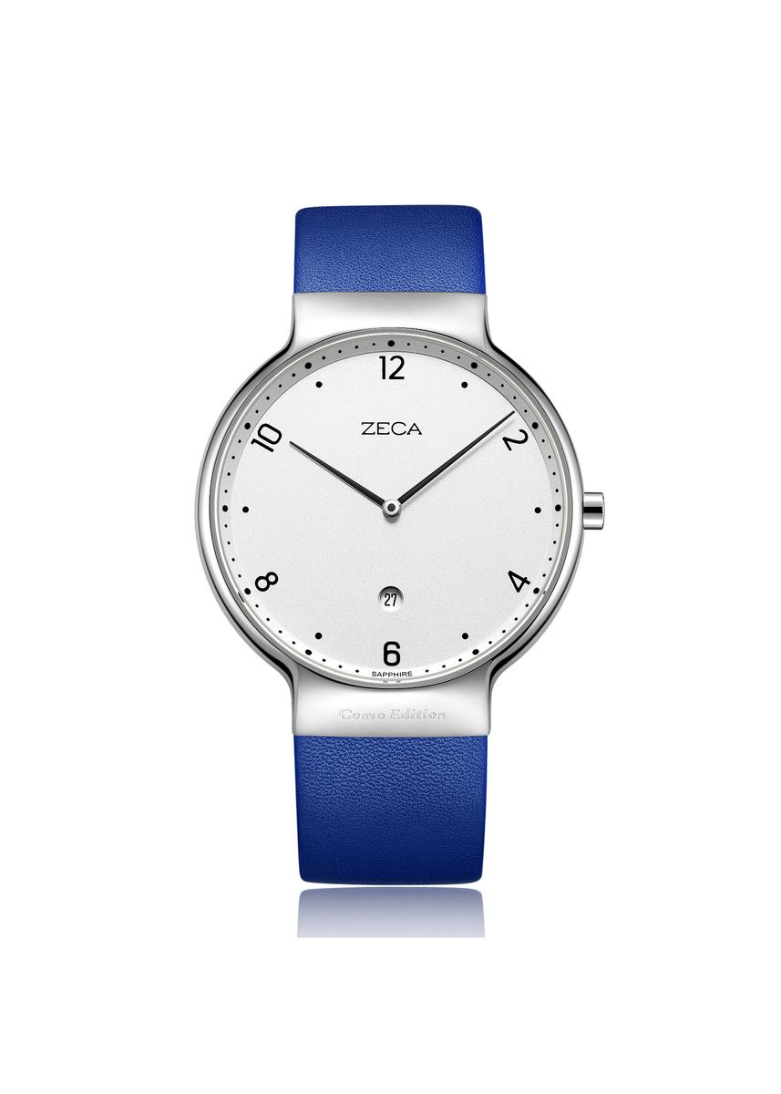 Blue color Analog . Zeca Watches - Ladies - 3013L.LBE.D1.S1 -