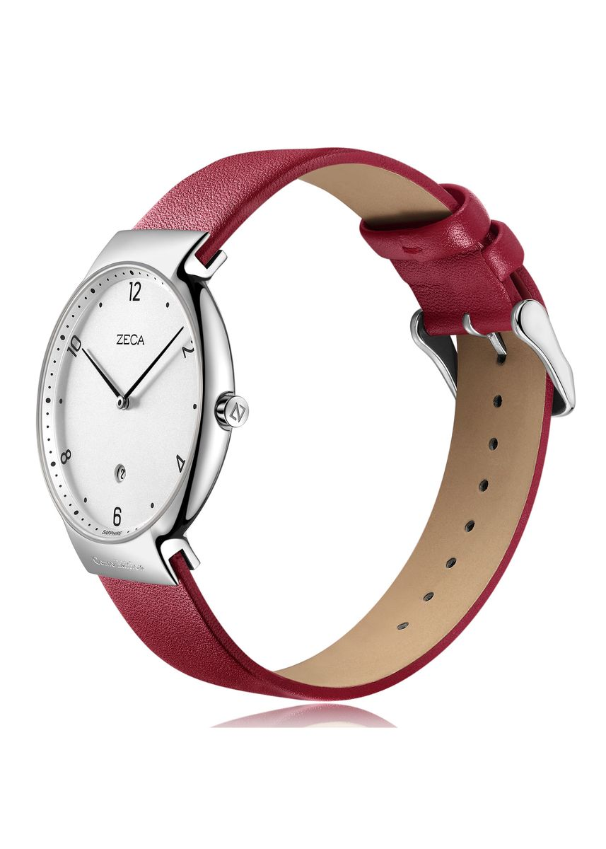Red color Analog . Zeca Watches - Ladies - 3013L.LRE.D1.S1 -