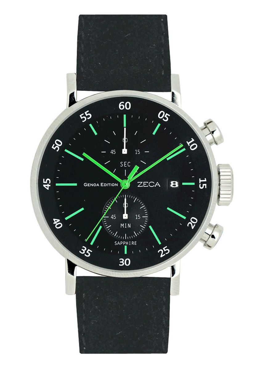 Black color Analog . Zeca Watches - Man - 266M.LBL.C.S2 -