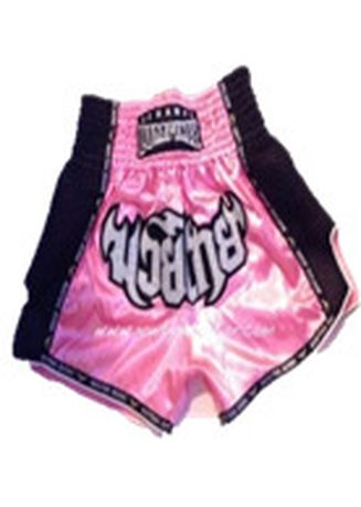 Pink color Bottoms . Thai Boxing Short #  Retro -