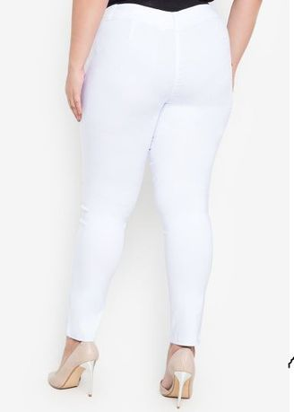 1416bfd7f6a D Fashion Engineer Wear-to-Work Stretch Pants Plus Size