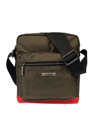 Brown color Messenger Bags . Condotti Sling Bag C-83549 Coffee/Red -