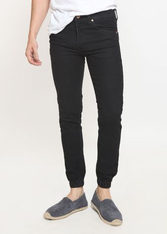 Hitam color Celana Jeans . 2Nd RED KOLEKSI Celana Jogger Jeans  Always Trending -