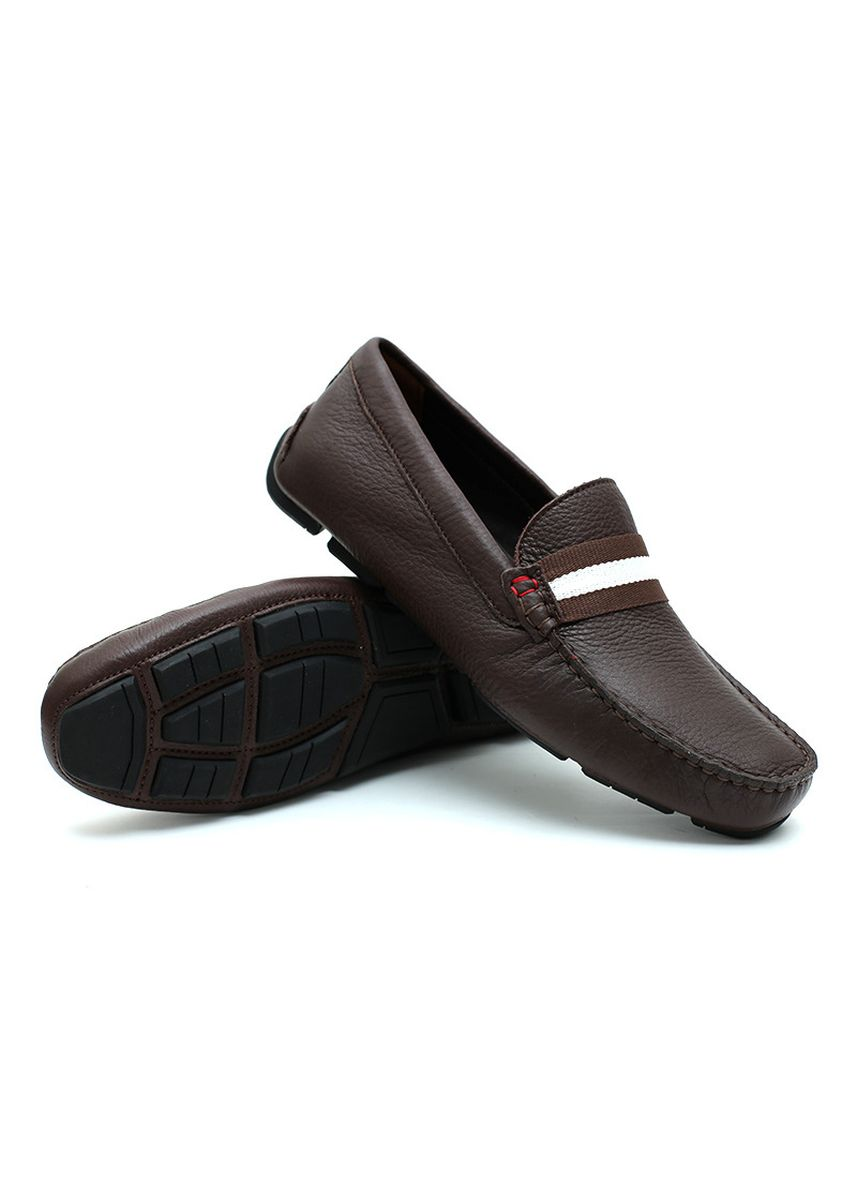 Brown color Casual Shoes . GINO MARIANI EDGARDO 1 Exclusive Cow Leather Casual Men's Shoes -