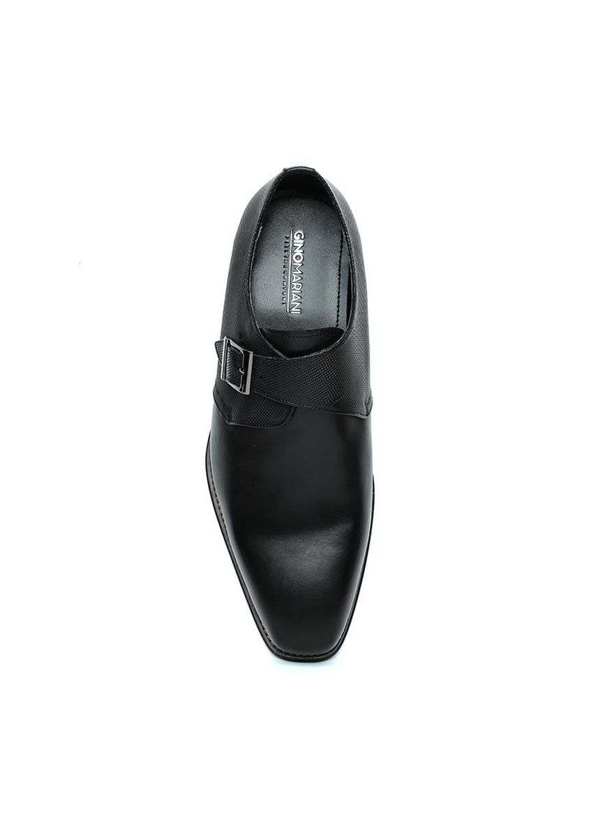 Hitam color Sepatu Formal . GINO MARIANI BERTAND Exclusive Cow Leather Formal Men's Shoes -