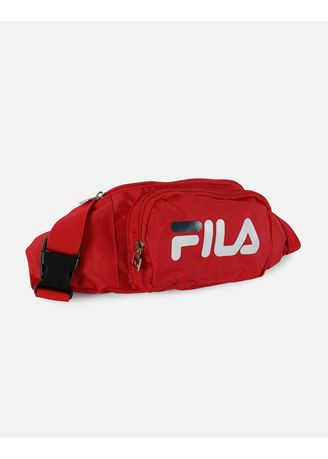 Red color Messenger Bags . Fila Fanny Waist Pack (Black / Blue / Red / White) -