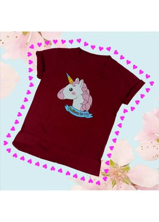 Tees & Shirts . HANAMI KAOS UNICORN BELIEVE IN US ALL SIZE FIT TO L  -
