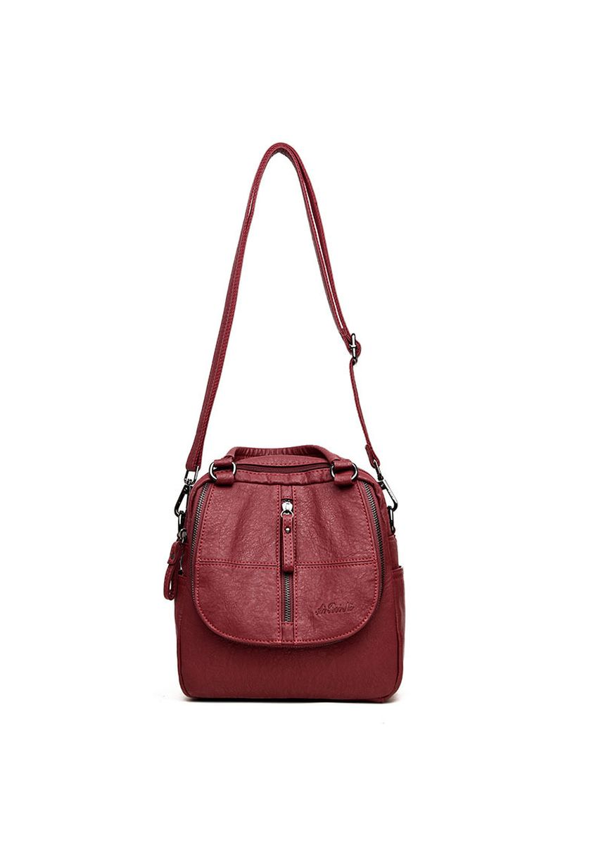 ดำ color เป้สะพายหลัง . Multi-function Wild Middle-aged Ladies Shoulder Bag -