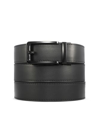 Black color Belts . CINCH BELTS Mens Black Full Grain Leather Belt -