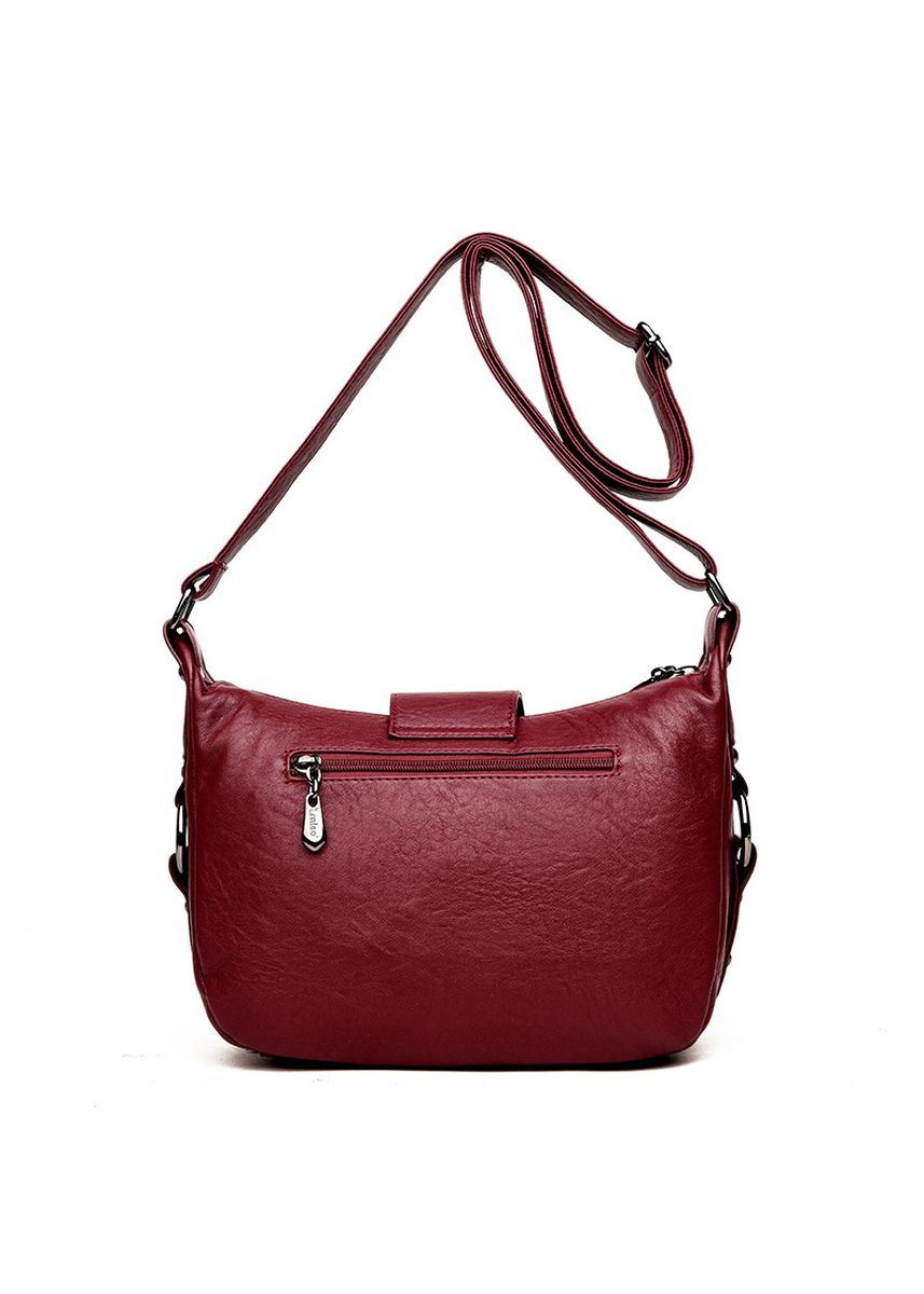 Red color Sling Bags . Spring And Summer New Women's Bag Shoulder Messenger Bag Mother Bag Simple Wild Middle-aged Women's Bag Tide Dumplings Package -