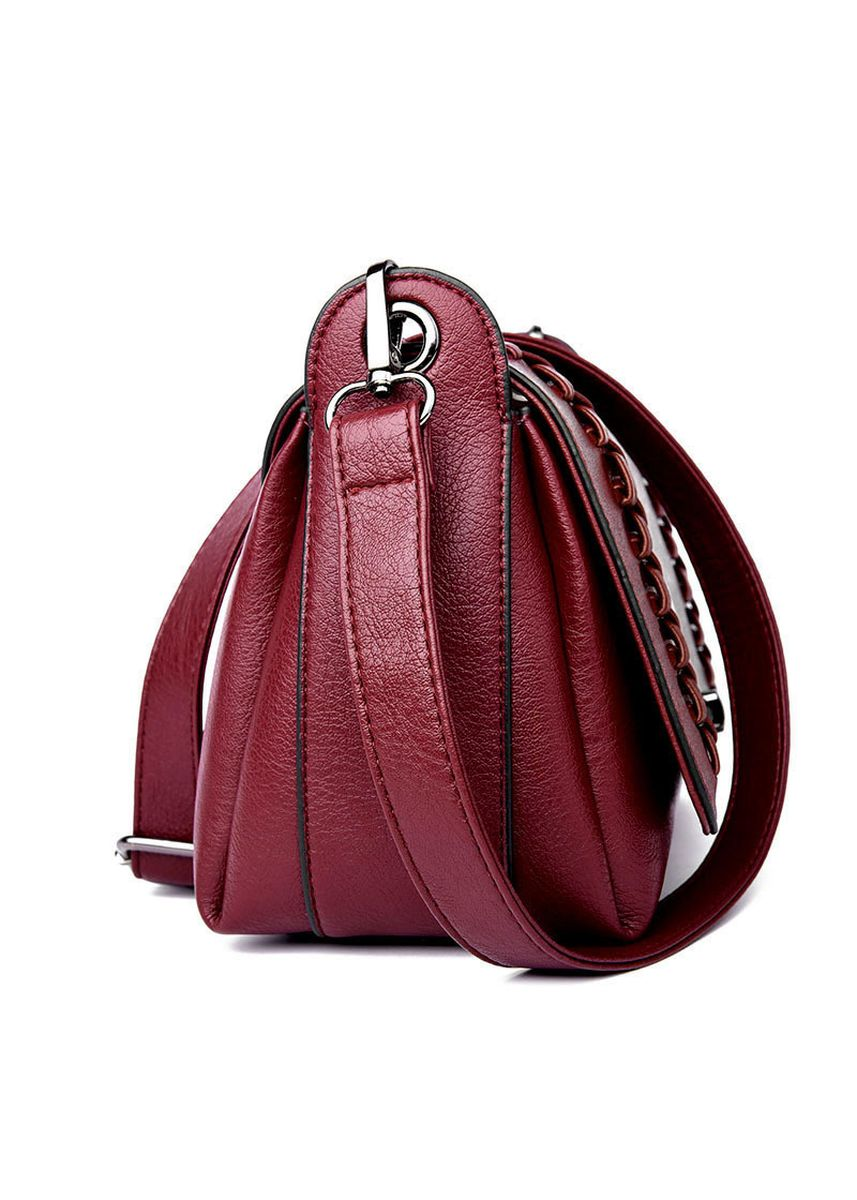 Red color Sling Bags . Women's handbag new woven -