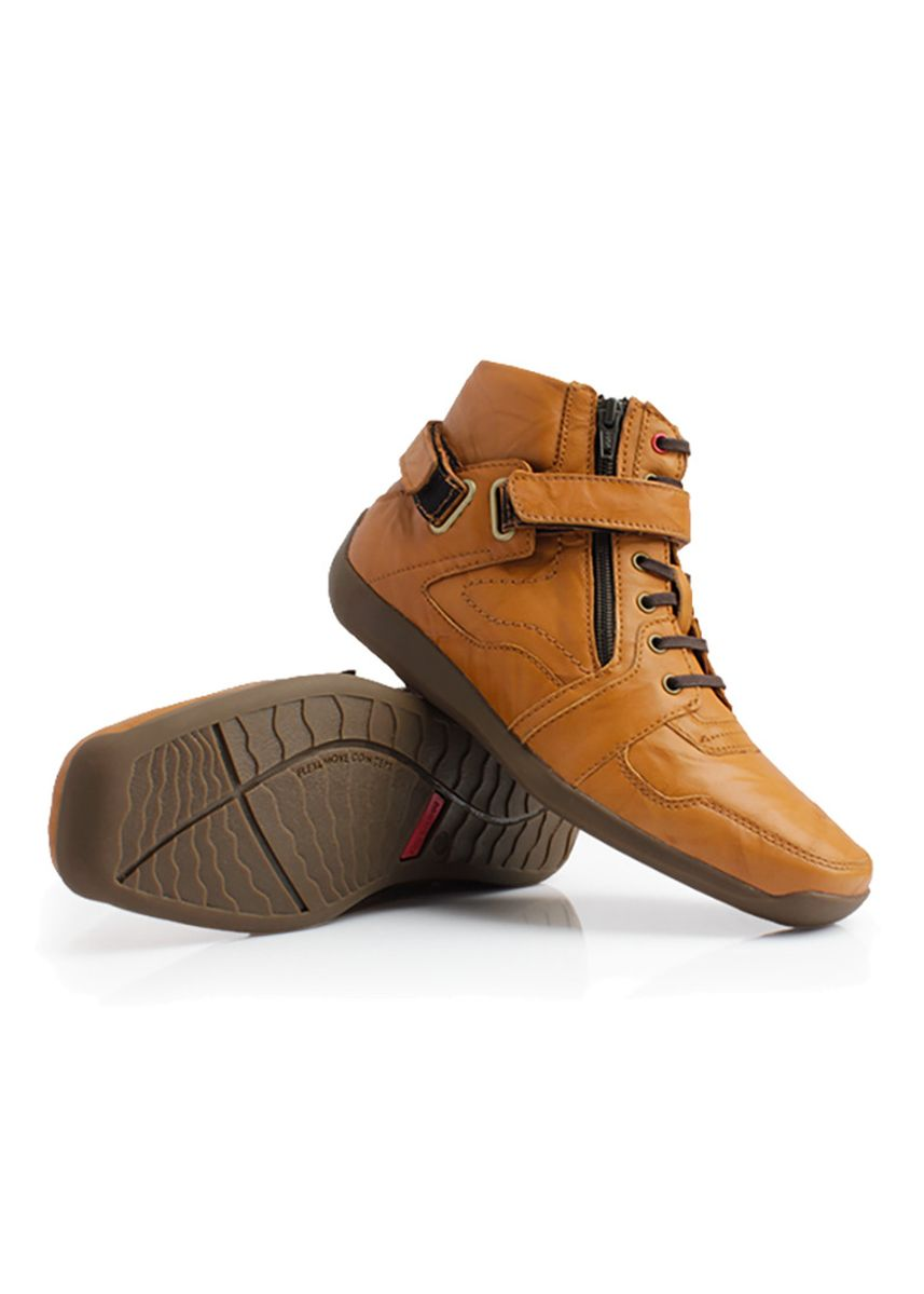 Tan color Boots . GINO MARIANI ELARIO 3 Exclusive Genuine Leather Casual Men's Shoes -