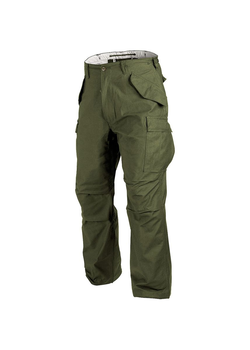 Green color Casual Trousers and Chinos . Men's Casual Cargo Pants Green -