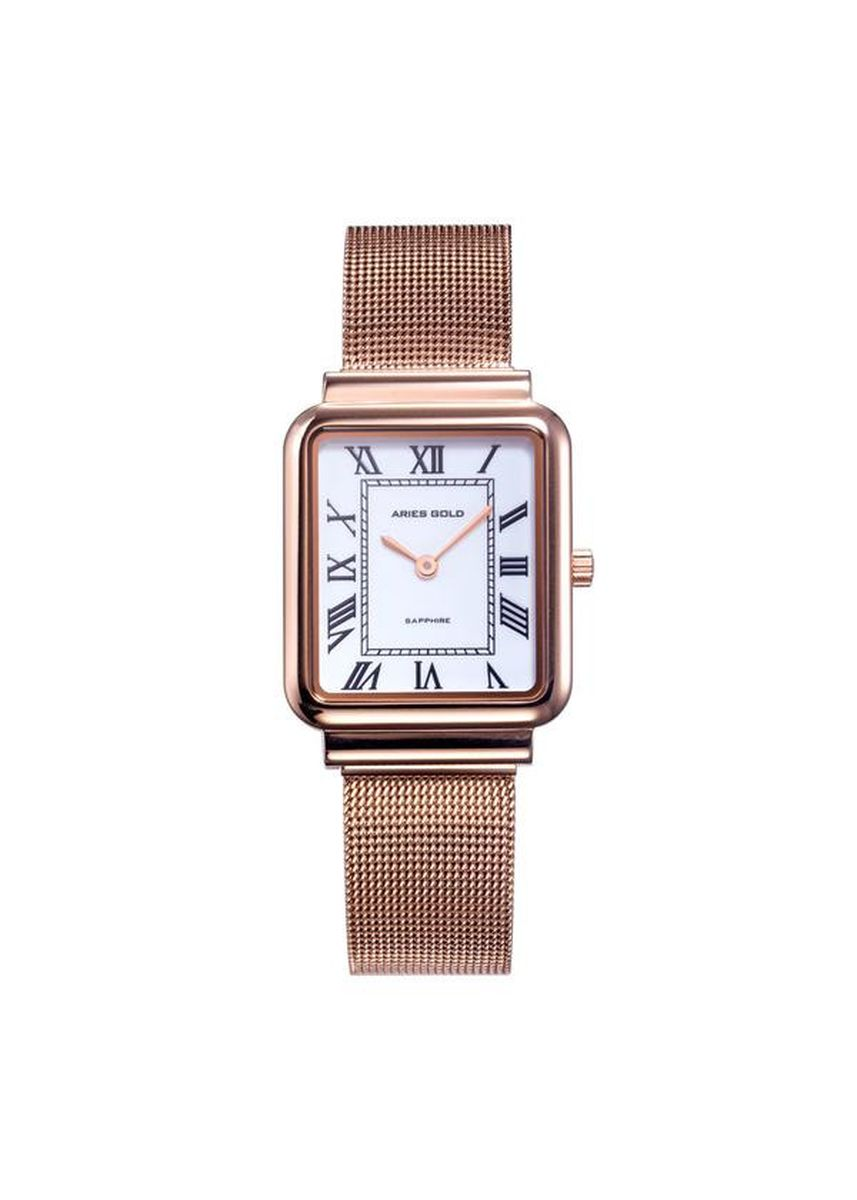 Pink color Analog . Aries Gold Enchant Isabella L 5032Z RG-W Women's Watch -