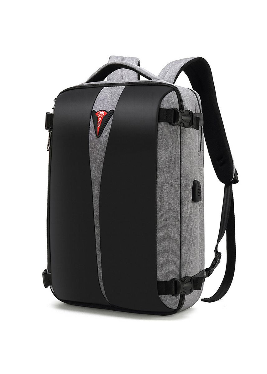 Grey color Backpacks . Men Multi-Function Fashion Computer Backpack  -