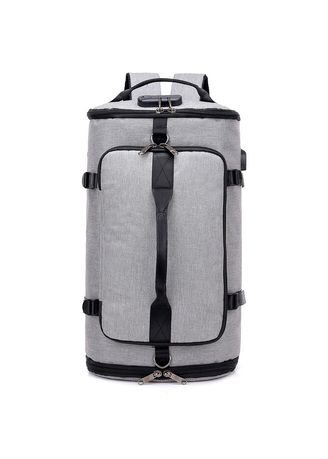 Grey color Backpacks . Men Outdoor Travel Leisure Backpack -