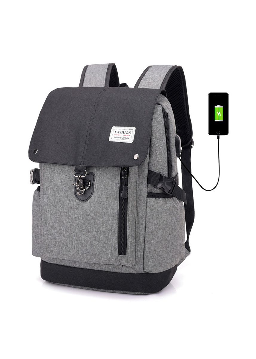 Brown color Backpacks . Men Waterproof Charging Casual Backpack  -