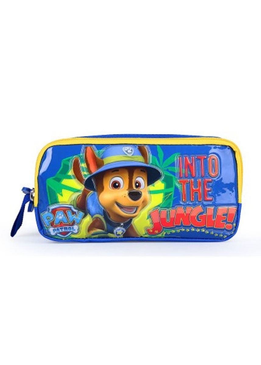 Blue color Accessories . Authentic Paw Patrol Large Capacity Pencil Case for Children -