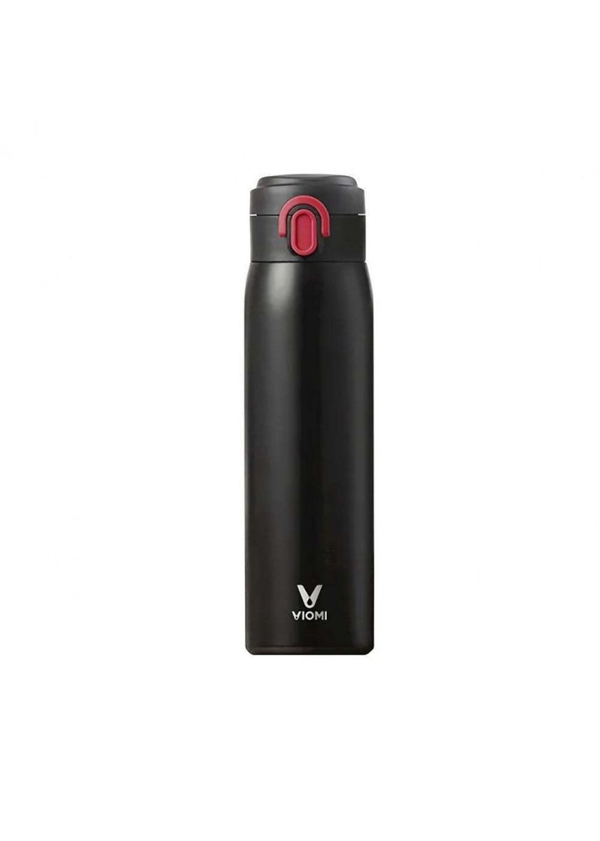 Black color Kitchen . Original XIAOMI VIOMI Stainless Steel Thermos Flask 460ml Black -