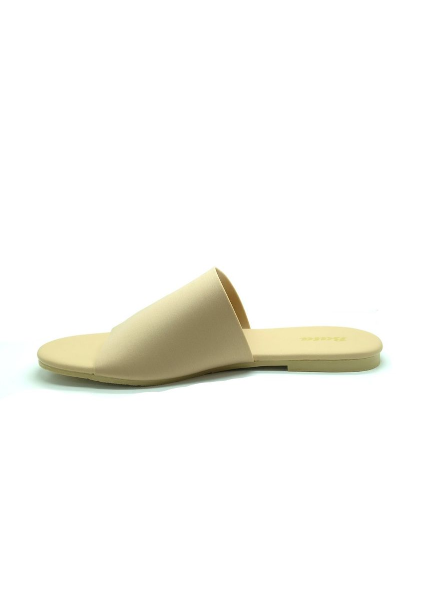 Beige color Sandals and Slippers . BATA Sepatu Sandal ZORA5 BEIGE - 5918494 -