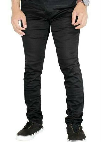 Black color Casual Trousers and Chinos . Celana CHINO Pria / Celana Panjang Pria Bestseller -