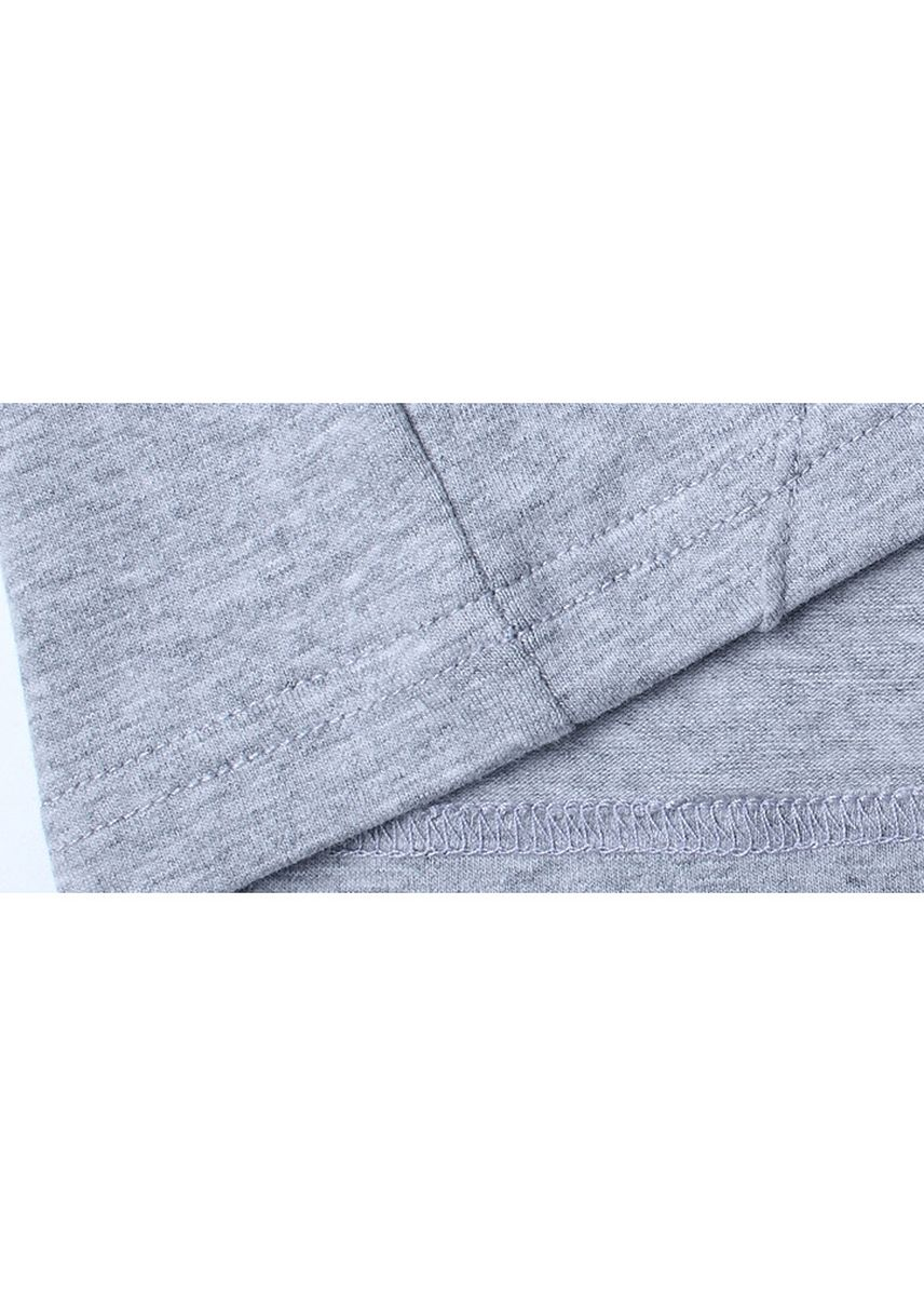 Light Grey color T-Shirts and Polos . New men's long sleeve V-neck t-shirt -