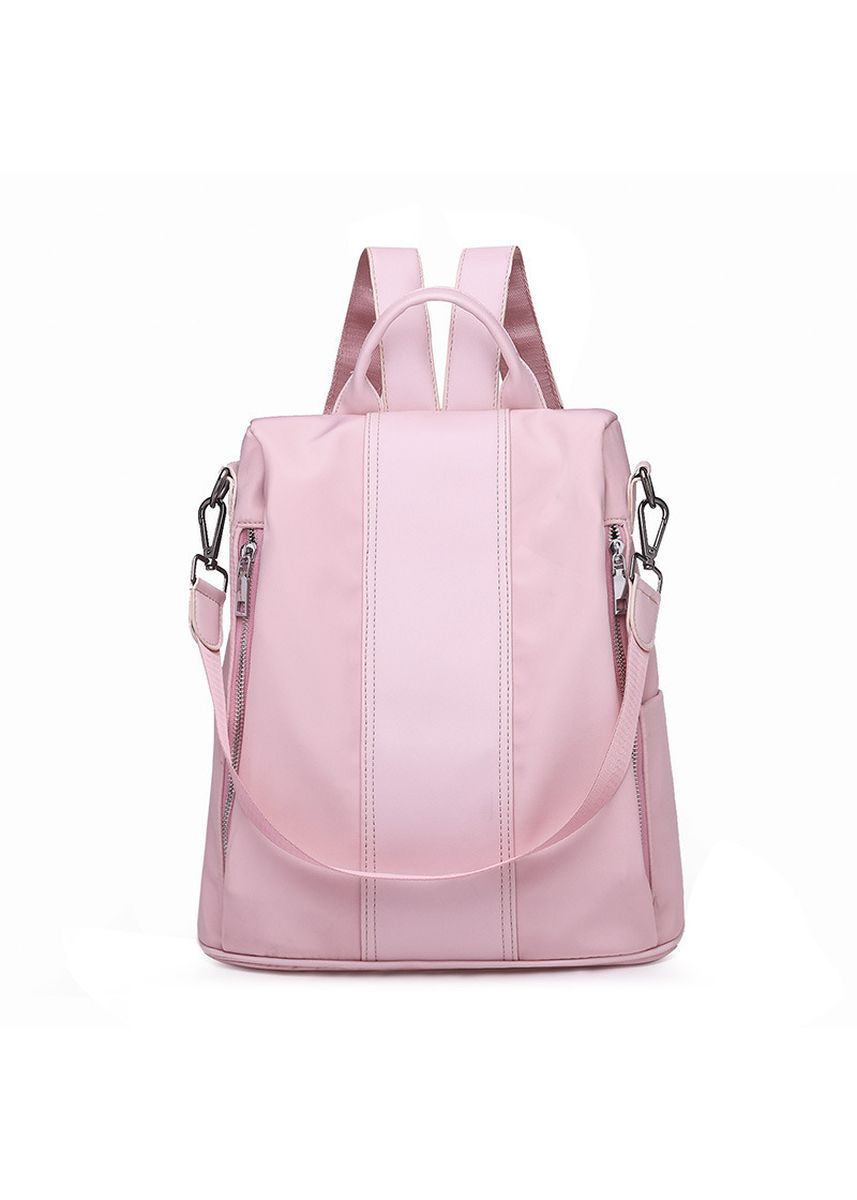 ดำ color เป้สะพายหลัง . Backpack Female Fashion Personality Oxford Cloth Nylon Small Bag -