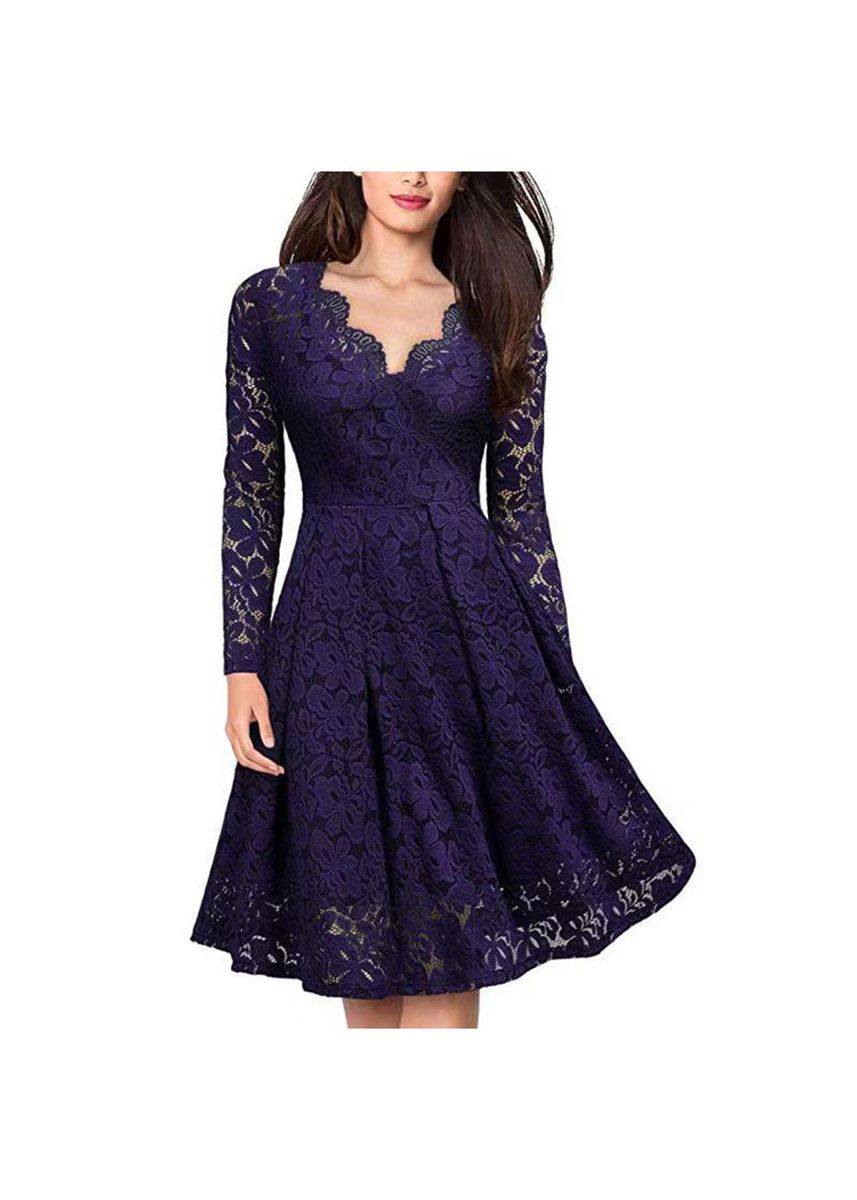 Green color Dresses . And Women's Skirt Sexy Lace Dress Long Sleeves -