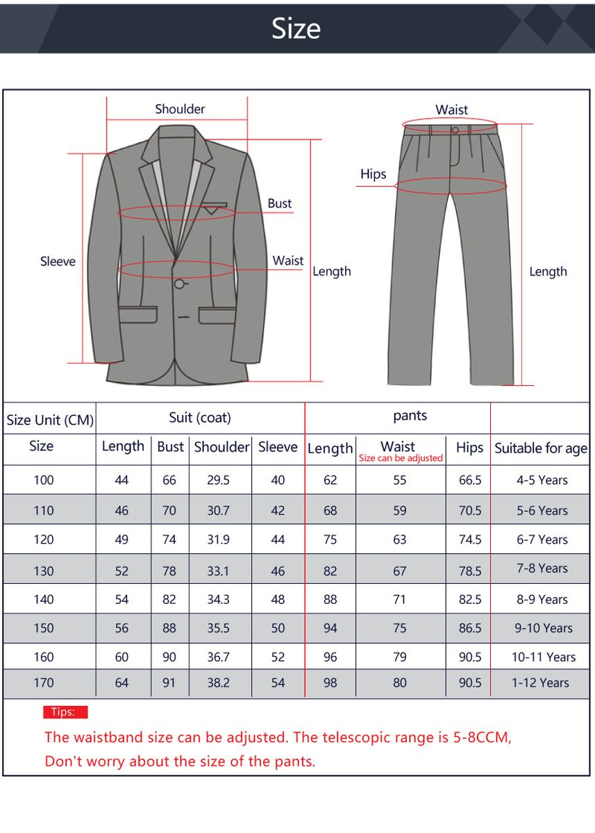 สีกรม color ชุด . Boy's Plaid Double-Breasted Suit 4PCS (suit + trousers + bow tie + shirt) -