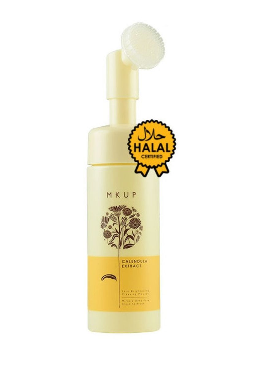 No Color color Other . MKUP® Calendula Extract - Deep Pore Cleansing Mousse -