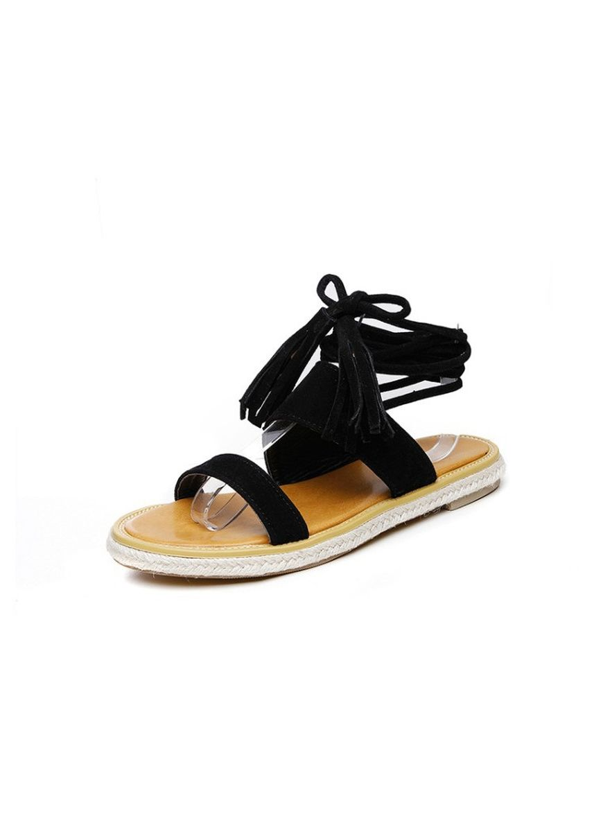Red color Sandals and Slippers . College Wind Casual Flat Bottom Strap Sandals Student Female Shoes -