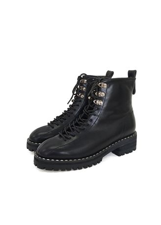 Boots . Han Wei Women's Shoes 3075 And Increased Martin Boots Female Chic -