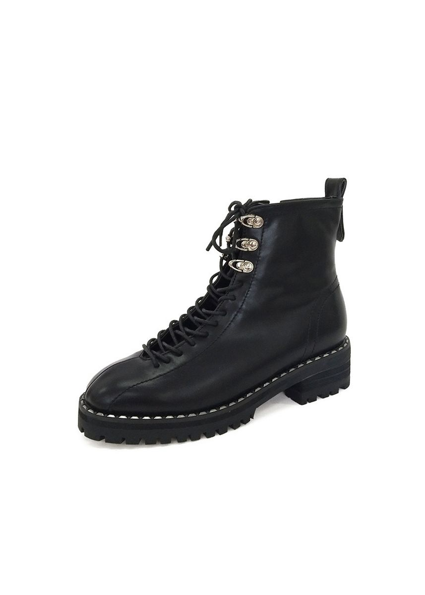 Black color Boots . Han Wei Women's Shoes 3075 And Increased Martin Boots Female Chic -