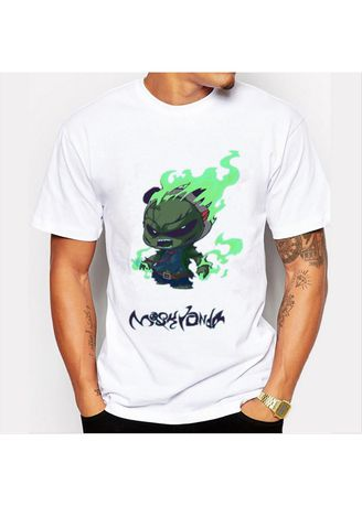 304ef407 Green Flame Printed T-shirt | Men's T-Shirts and Polos | Zilingo ...