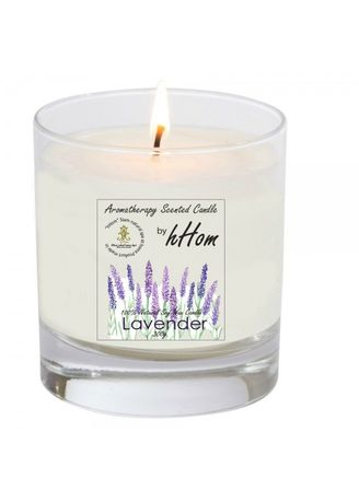 No Color color Home Fragrances . Aroma Organic Soy Wax Candle Lavender  300g. -