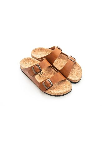 Brown color Sandals and Slippers . U&Me - Caramel -