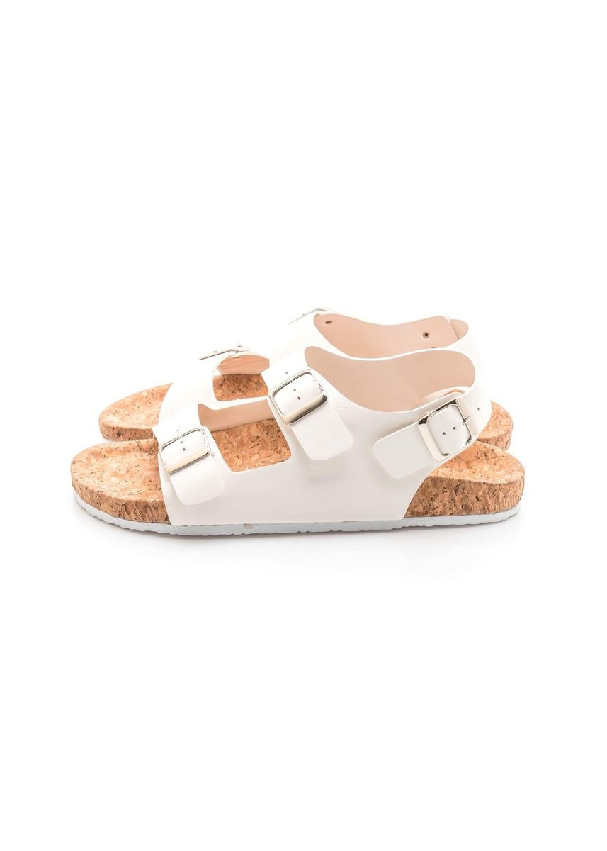 White color Sandals and Slippers . Girl After U :) -