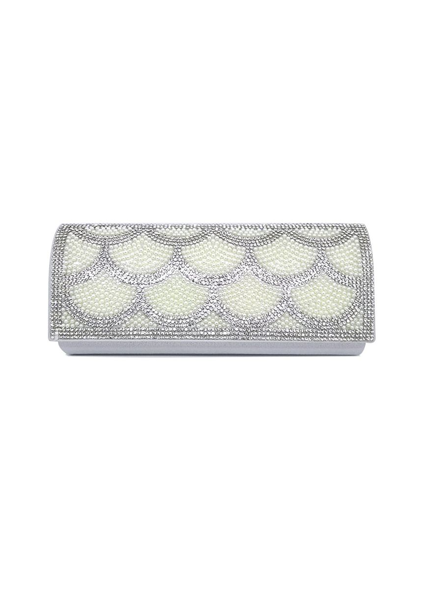 Silver color Wallets and Clutches . MYNT By Mayonette Letty Clutch Bag -