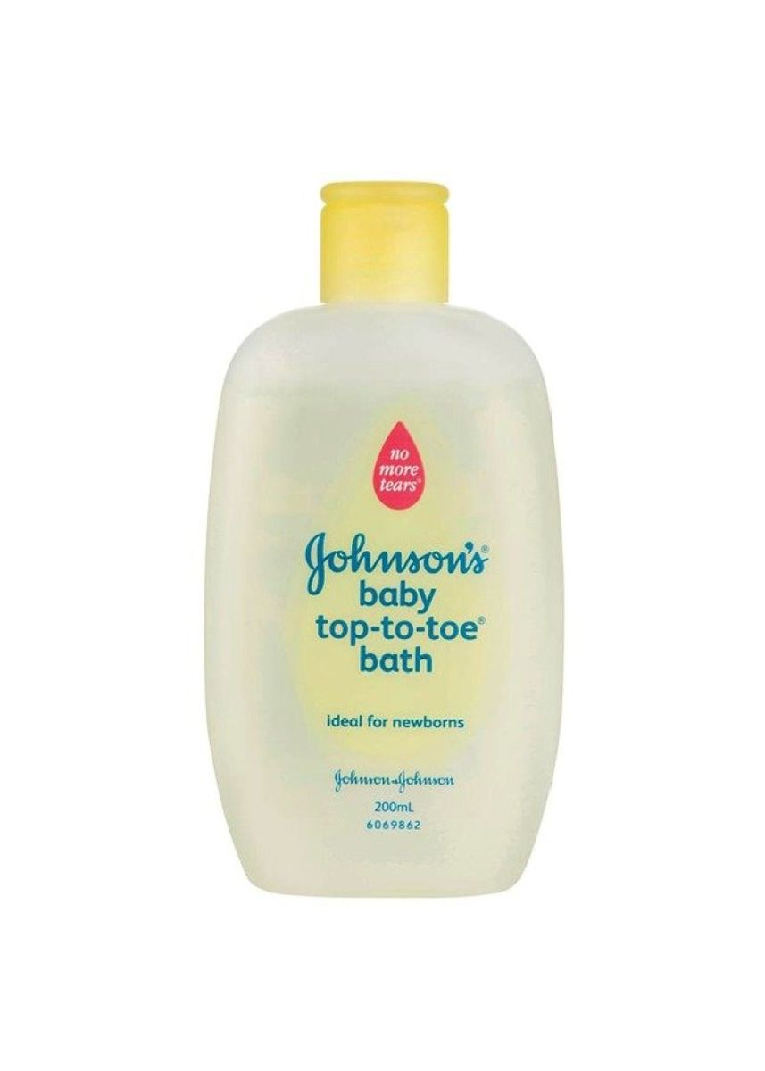 No Color color Hair Wash . Johnson´s Baby Top-to-Toe Wash 200ml (1ขวด) -