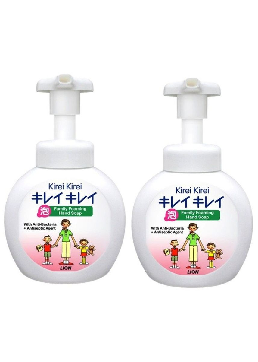 No Color color Others . Lion Kirei Kirei Family Foaming Hand Soap 250 ml/ขวด 2 ขวด (สีขาว) -